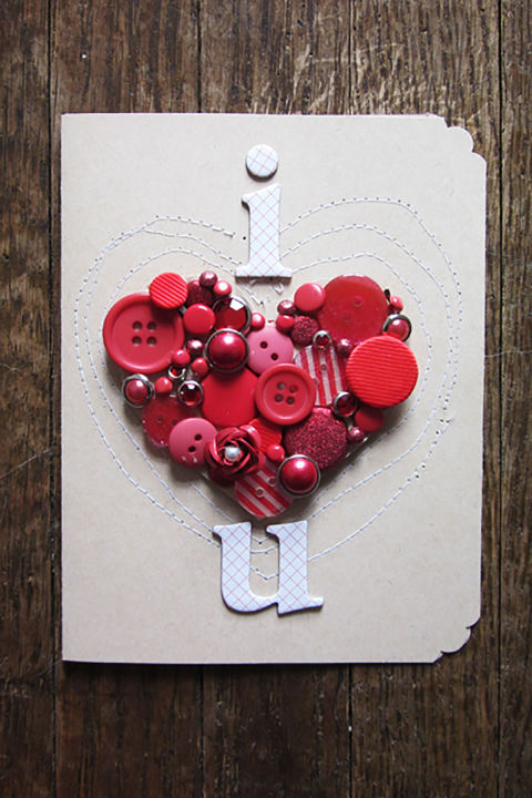 25 DIY Valentines Day Cards Homemade Valentines Counrty Living – Valentine Day Handmade Card