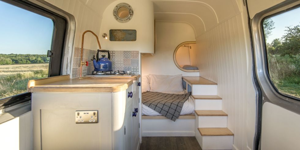 Tiny House That Fits Inside a Mercedes Benz