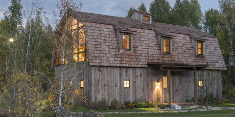 Barn Inspired Guest House Front Design Ideas