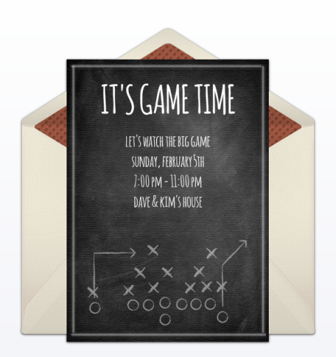 15 Free Super Bowl Party Invitations 2017 Football Party Invites