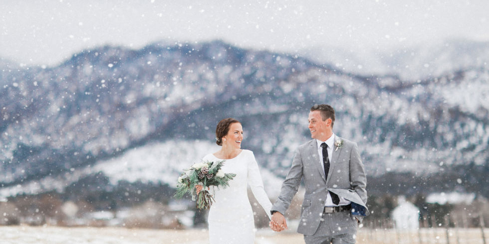 30 dreamy winter wedding photos ideas for winter weddings winter wedding photo junglespirit Image collections