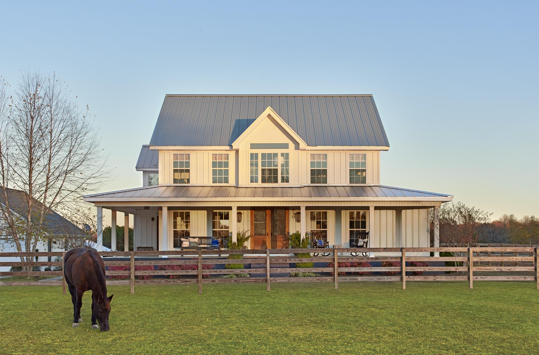 Alabama Farmhouse Before And After Farmhouse Makeover
