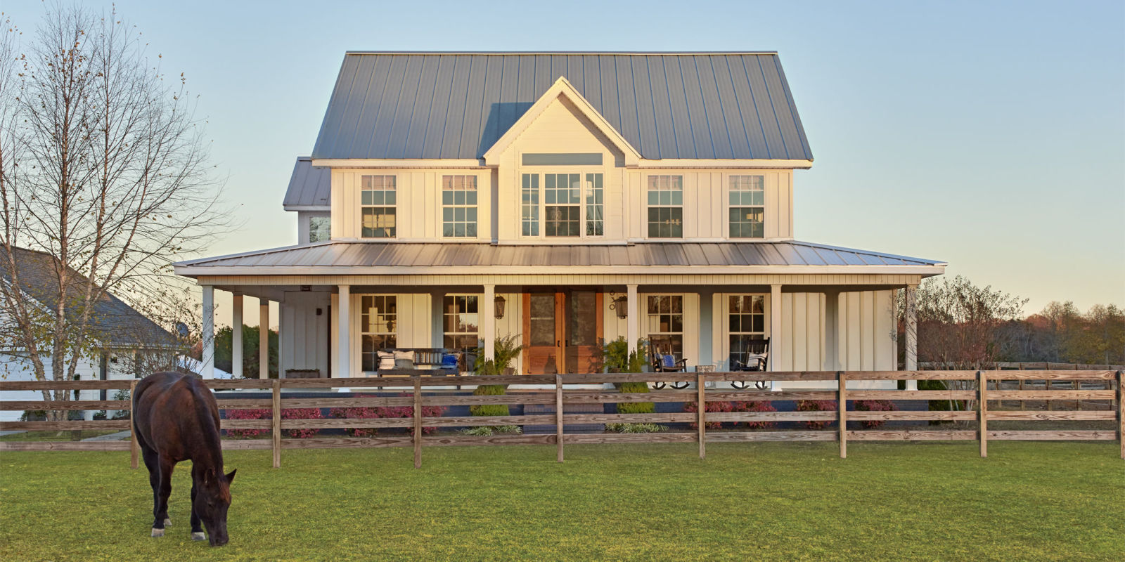 Alabama farmhouse before and after farmhouse makeover for Farmhouse style building plans