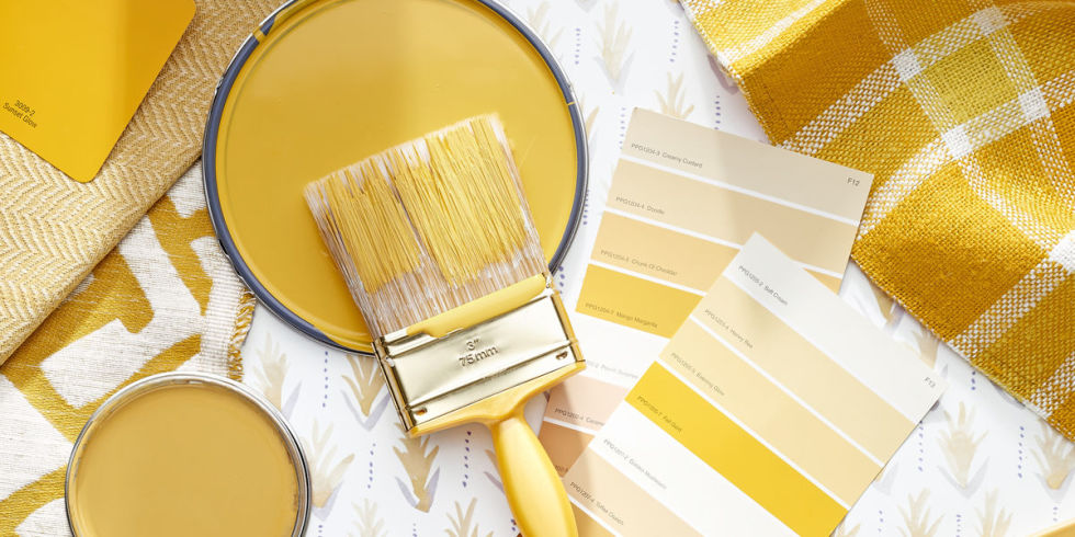 Spring Paint Colors marigold is the color taking over homes this spring - paint color