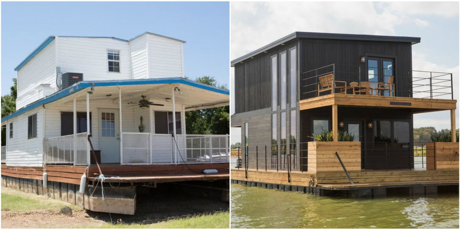Joanna And Chip Gaines Gave This Houseboat An Unbelievable Makeover Fixer Upper Photos