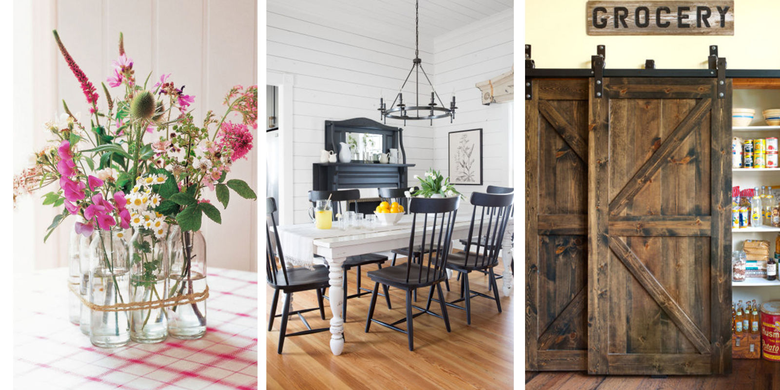 add farmhouse style to any home rustic country home decorating ideas