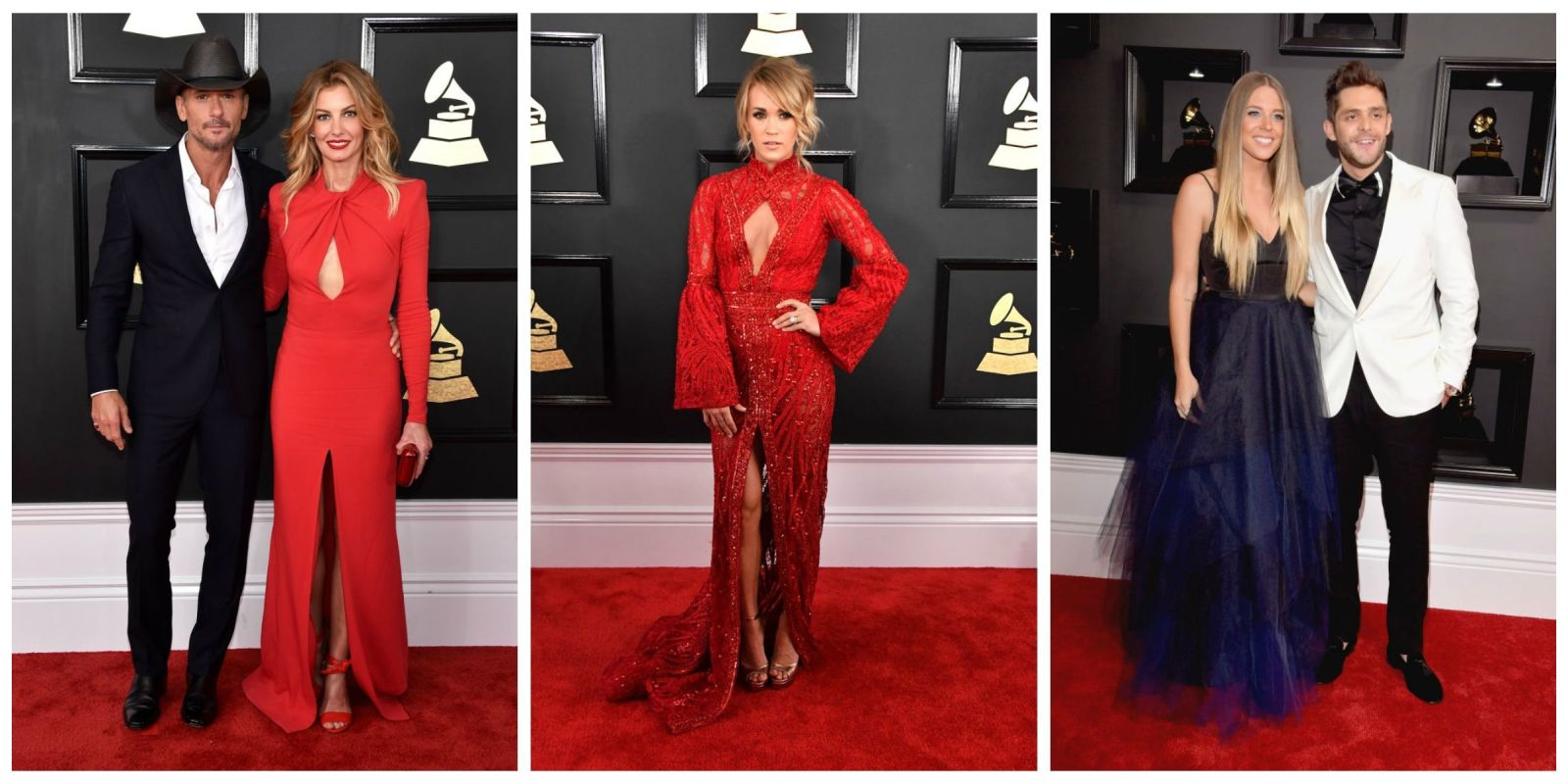 Best Country Singer Red Carpet Looks Grammys