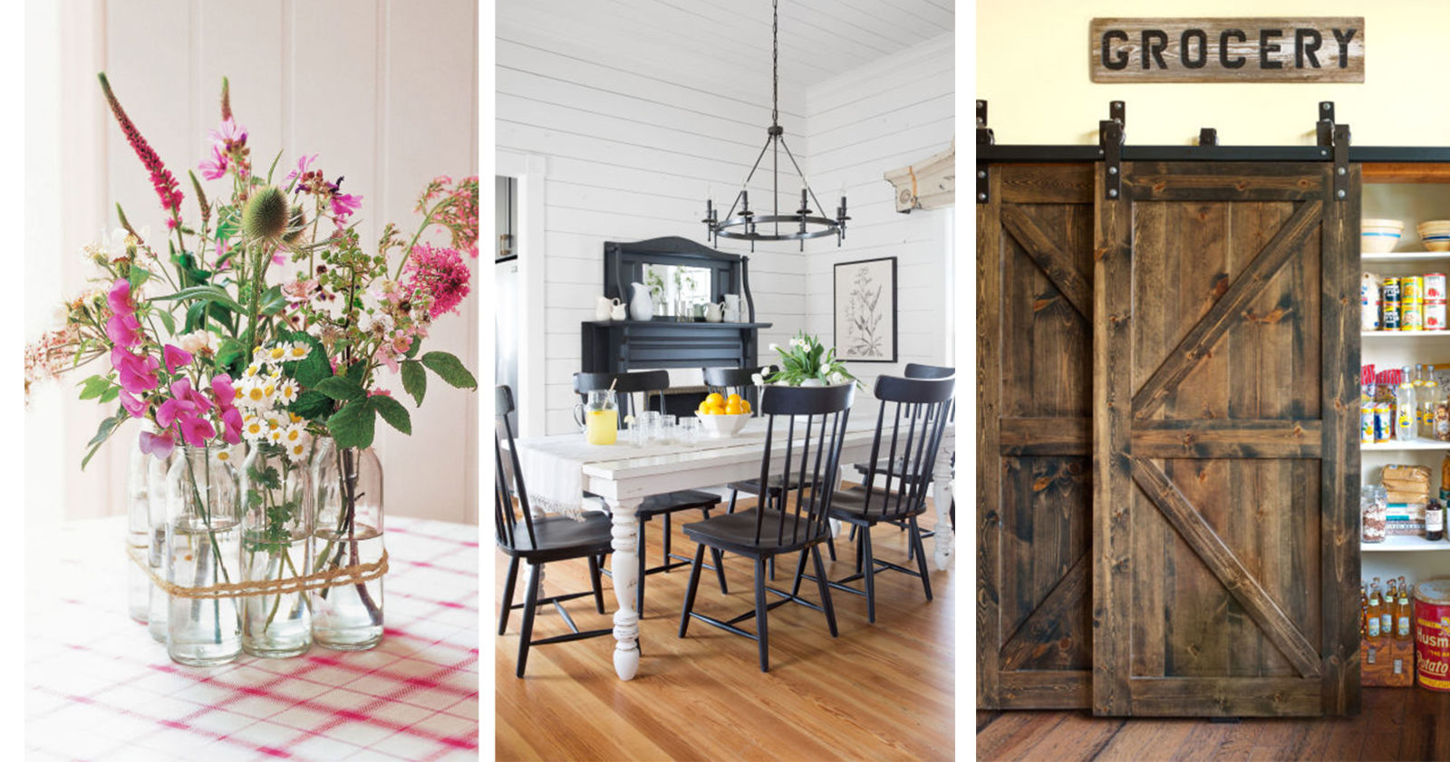 25 Ways to Add Farmhouse Style to Any Home - Rustic Country Home ...