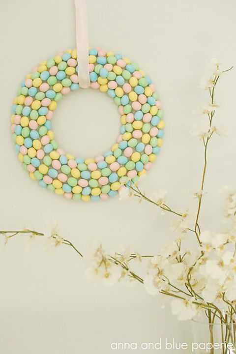 10 DIY Easter Wreath Ideas - How to Make a Cute Easter ...