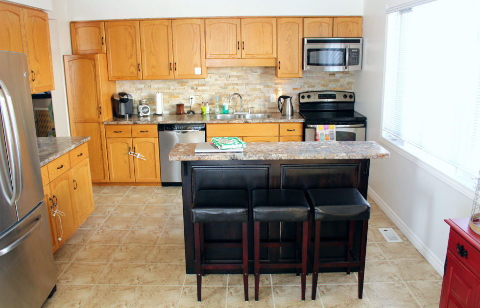 DIY Kitchen Cabinet Makeovers Before After Photos That - Diy kitchen cabinets makeover
