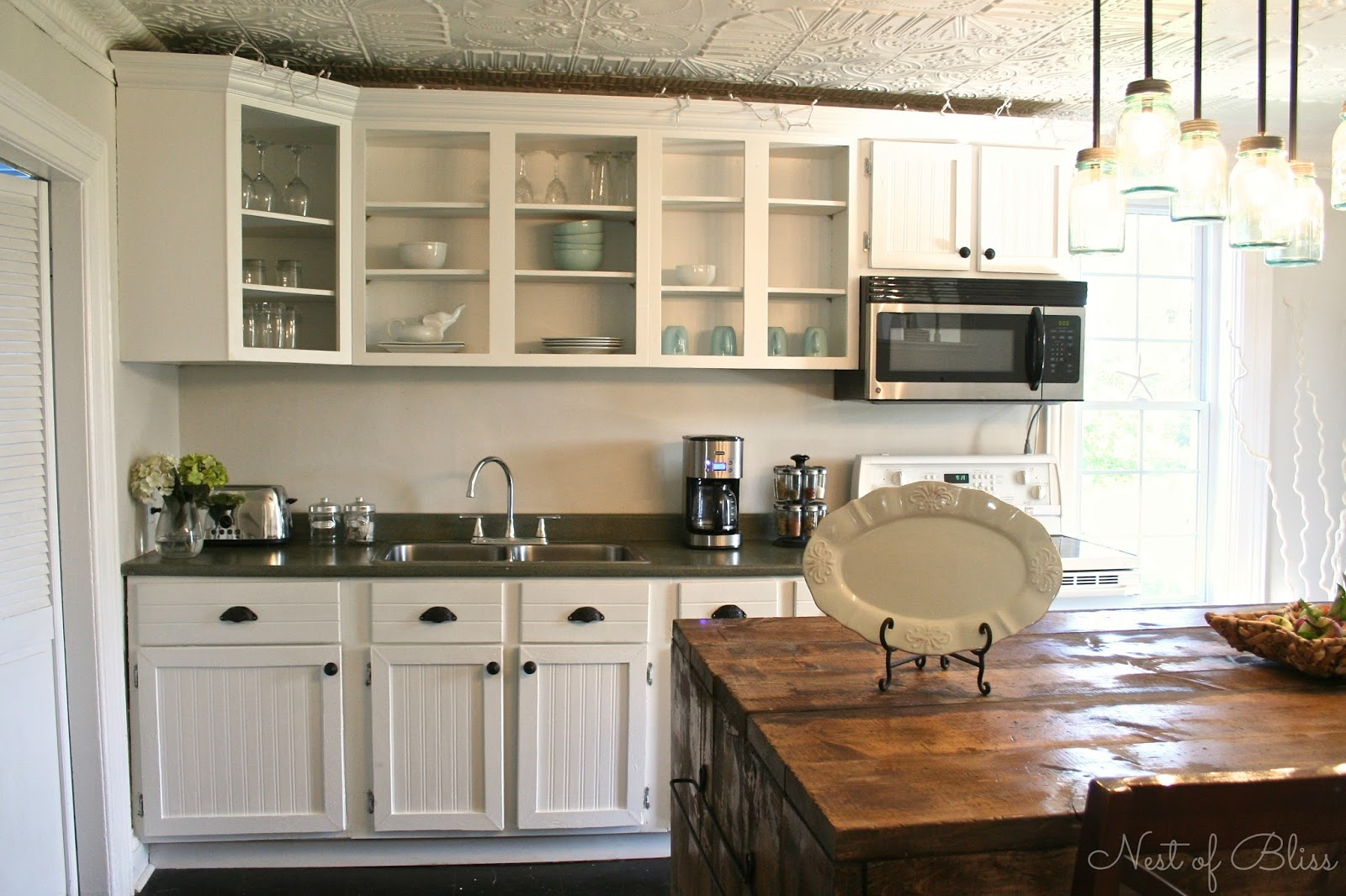 Country kitchens on a budget - 10 Diy Kitchen Cabinet Makeovers Before After Photos That Prove A Little Tlc Goes A Long Way