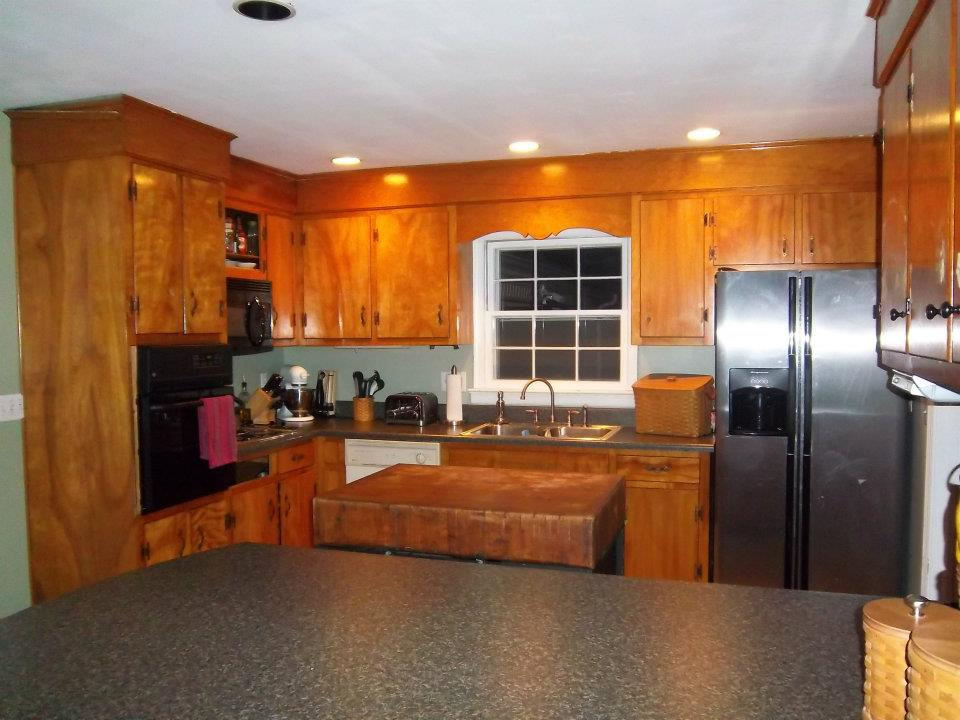 Ideas For Kitchen Cabinets Makeover 10 diy kitchen cabinet makeovers - before & after photos that
