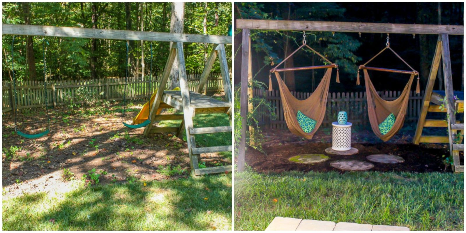 how to make a diy grown up swing set how to transform a kid u0027s