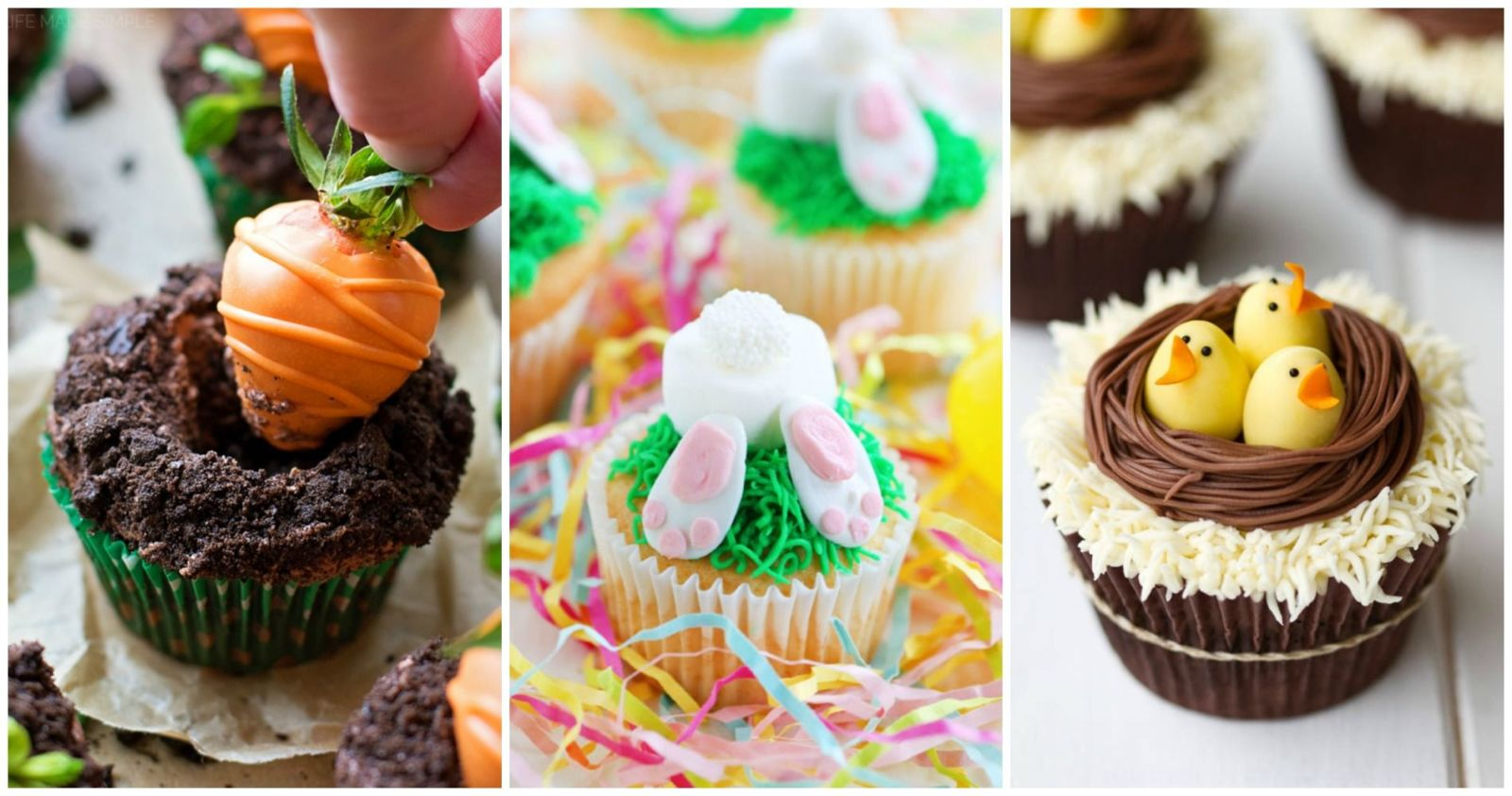 12 Cute Easter Cupcake Ideas - Decorating & Recipes for Easter ...
