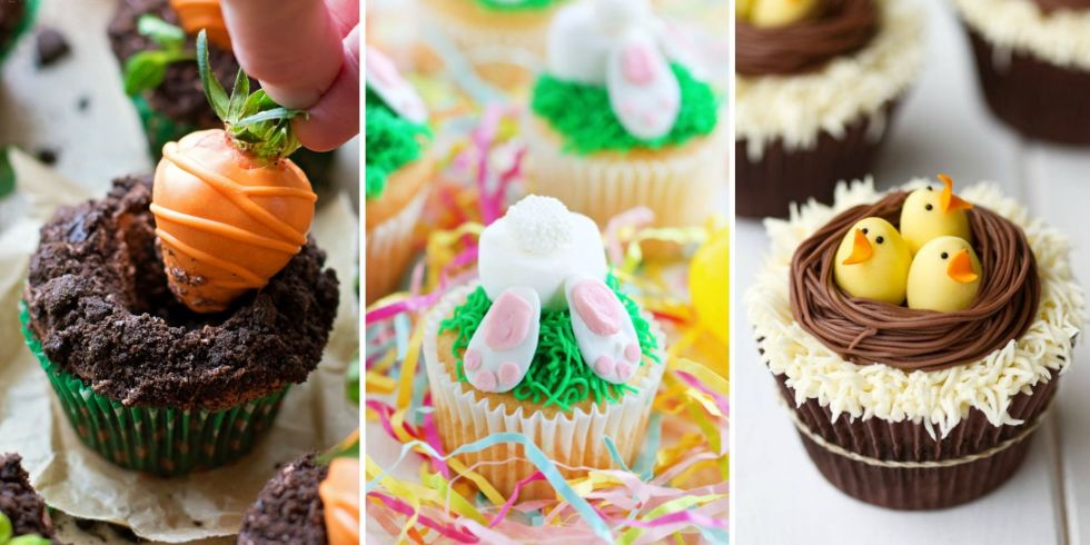 12 cute easter cupcake ideas decorating recipes for easter cupcakes - Cupcake Decorating