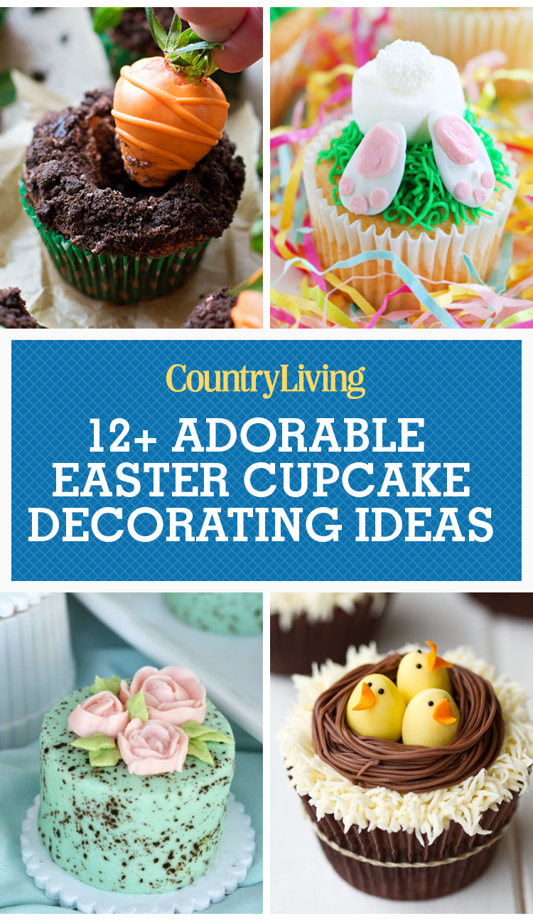 12 cute easter cupcake ideas decorating recipes for for Cute cupcake decorating ideas for easter