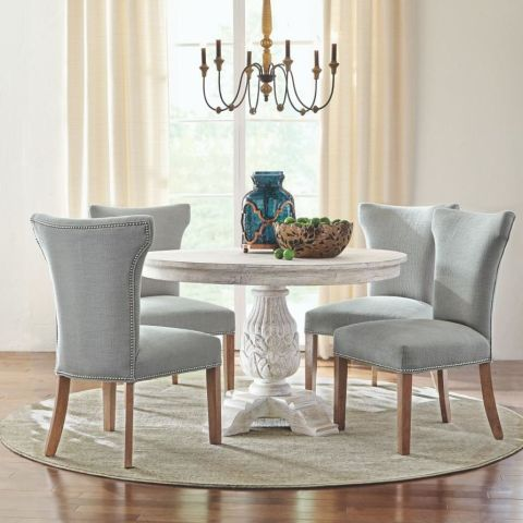 Pictured  Home Decorators Collection Custom Contemporary Curved Back  Parsons Chair   189  Home Decorators Collection Kingsley Sandblasted  Antique Natural. 20 Things You Never Knew You Could Buy at The Home Depot   You Can