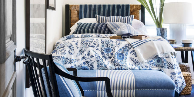 Bedroom Decor Blue And White 28 best white bedroom ideas - how to decorate a white bedroom