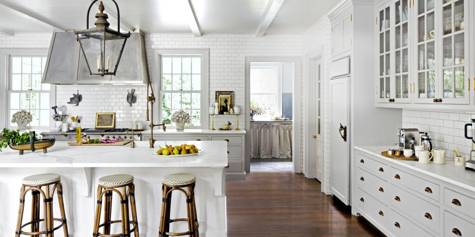 21 best white kitchens - pictures of white kitchen design ideas