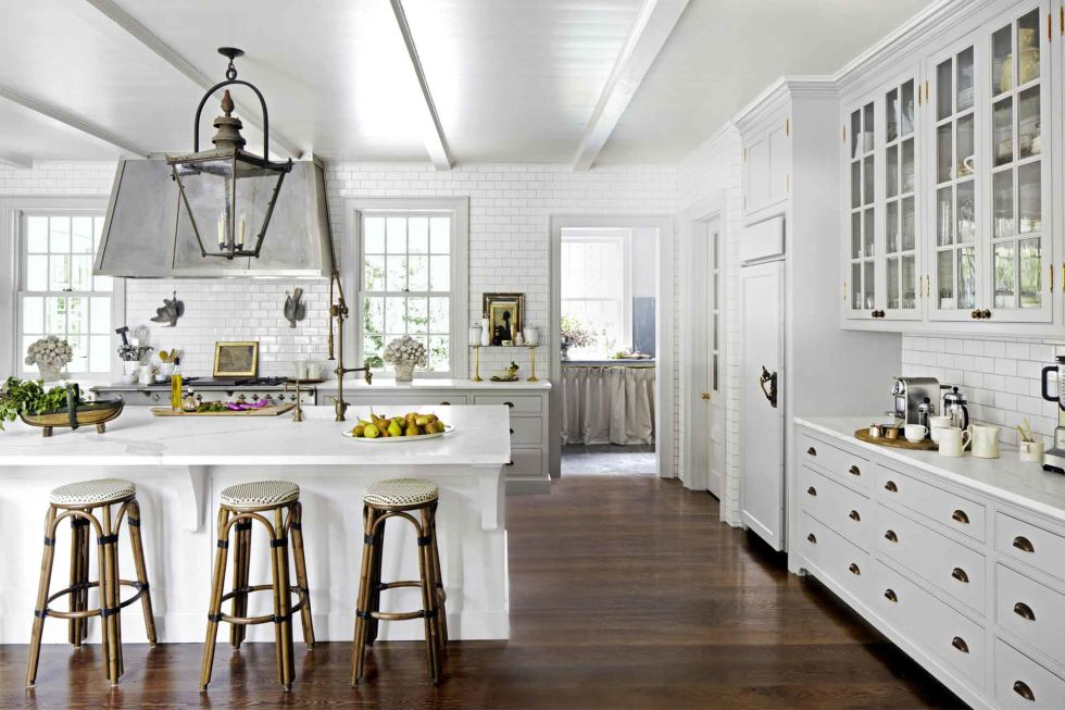 24 best white kitchens - pictures of white kitchen design ideas