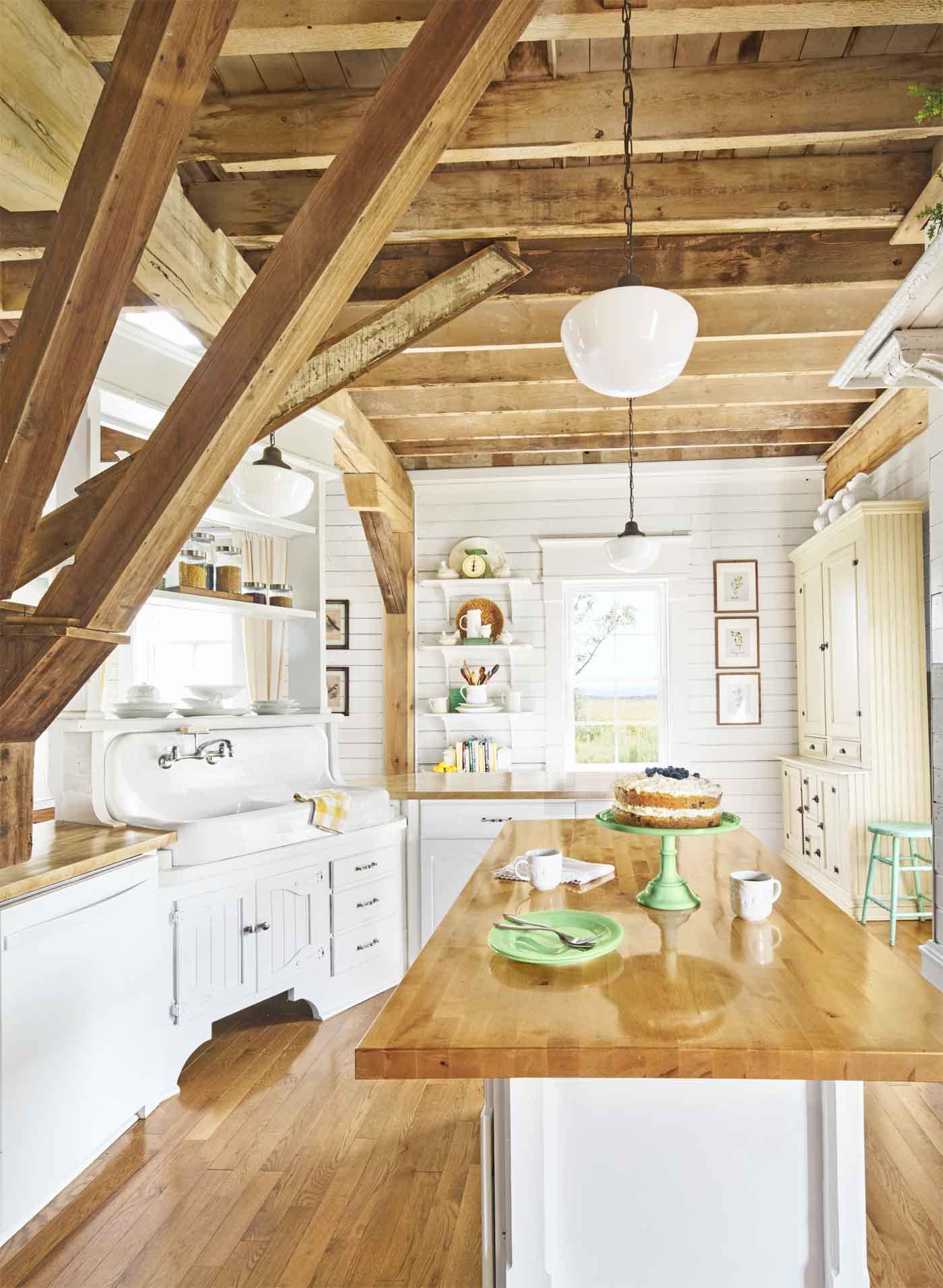 100 Kitchen Design Ideas of Country Kitchen Decorating