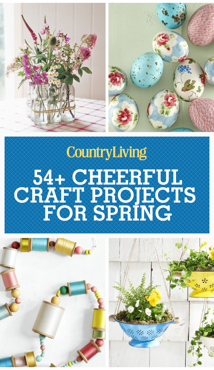 spring crafts craft projects fun diy easy simple cheerful gifts country backyard decorating