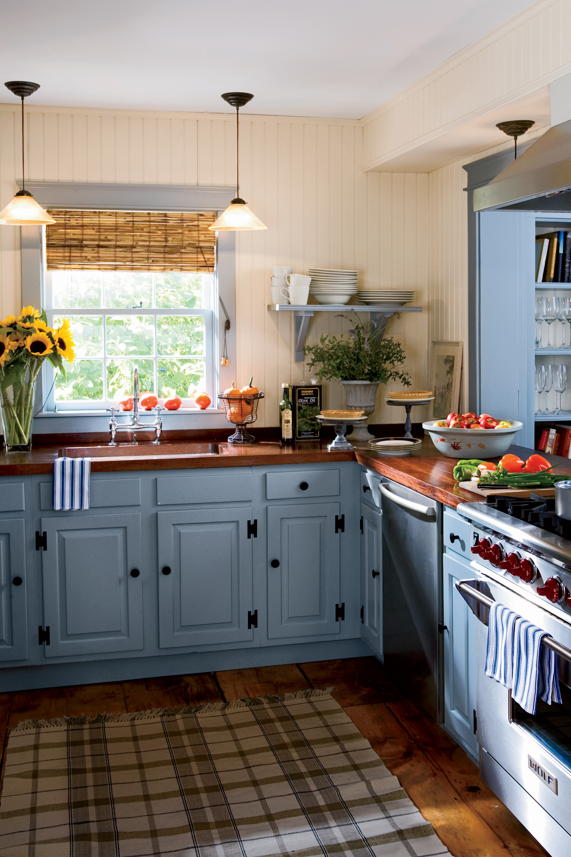 Country Kitchen Colors