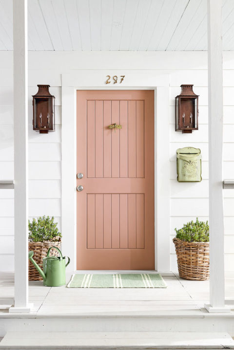 5 Colorful Themes For Your Front Door Front Door