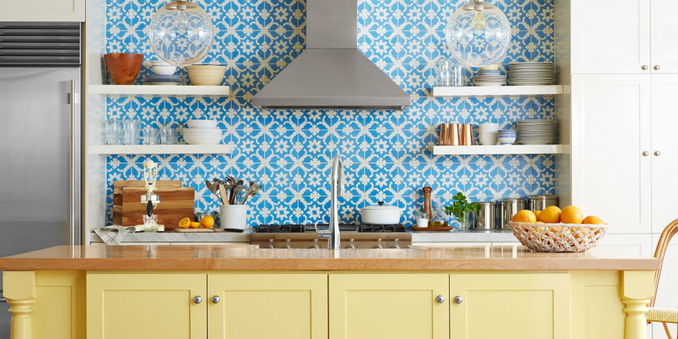 Tiles kitchen backsplash