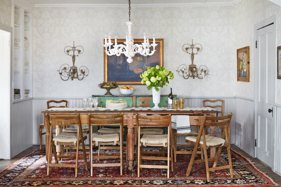 Marvelous Dining Room Chair Ideas Part - 7: Country Living Magazine