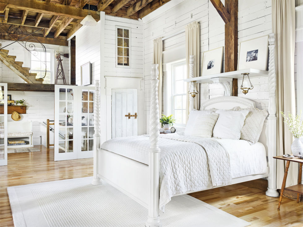 Go All White. 32 Cozy Bedroom Ideas   How To Make Your Room Feel Cozy