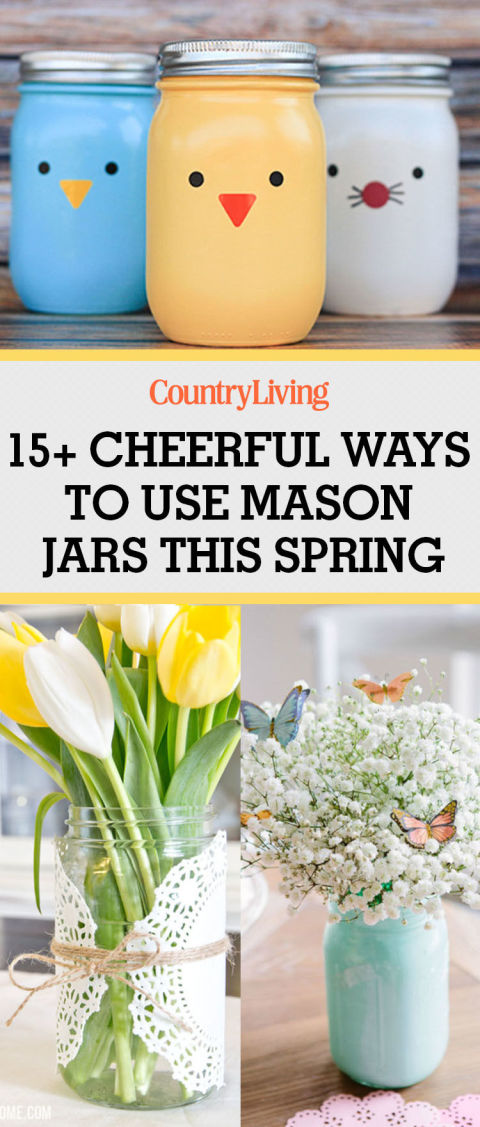 Easter mason jars spring mason jar craft ideas pin these ideas negle Image collections