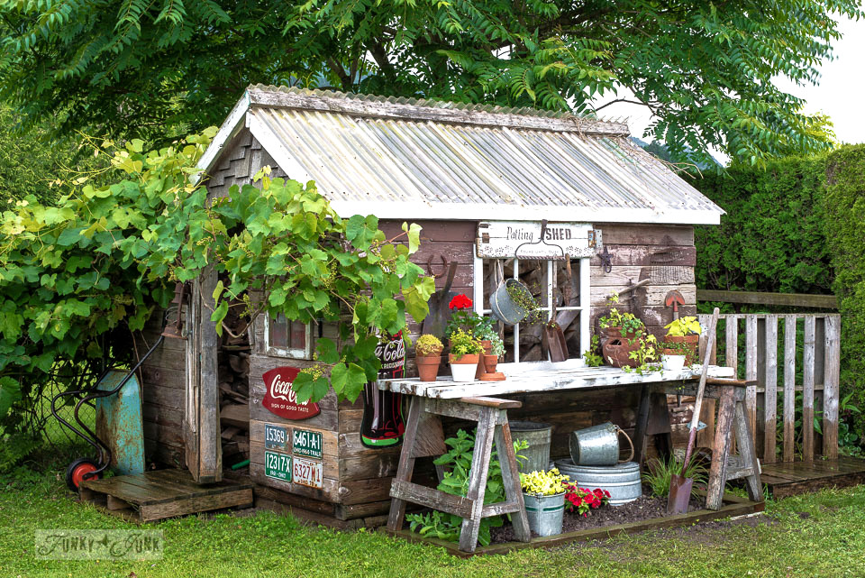 Ordinaire 14 Whimsical Garden Shed Designs Storage Shed Plans Pictures