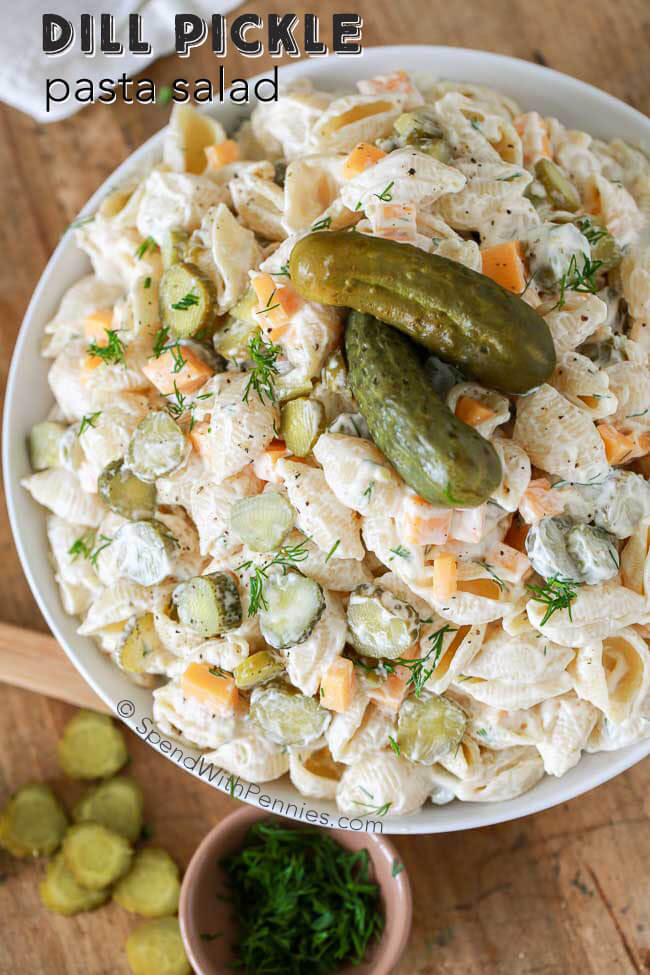 55 summer pasta salad recipes easy ideas for cold pasta for Cold pasta salad ideas