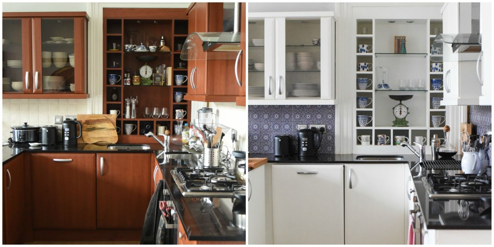 Here 39 s what a 600 weekend kitchen renovation looks like for Kitchen rehab ideas