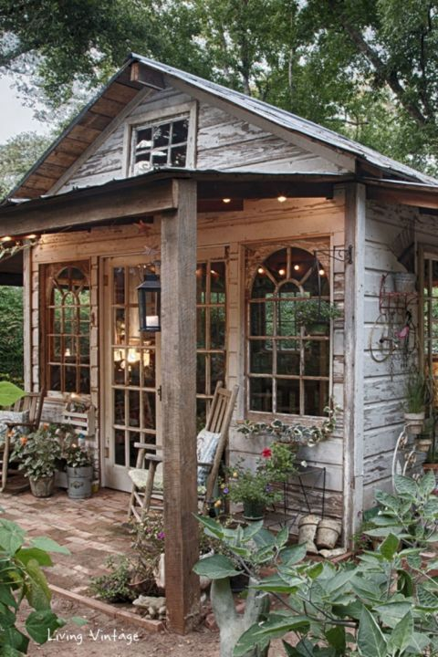 Vintage Inspired Shed Amazing Pictures