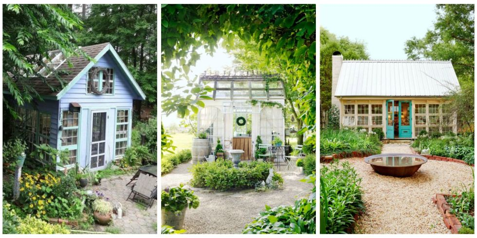 14 Whimsical Garden Shed Designs - Storage Shed Plans & Pictures