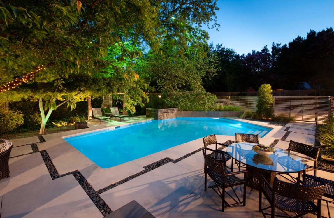 swimming pool ideas for backyard | pool design and pool ideas