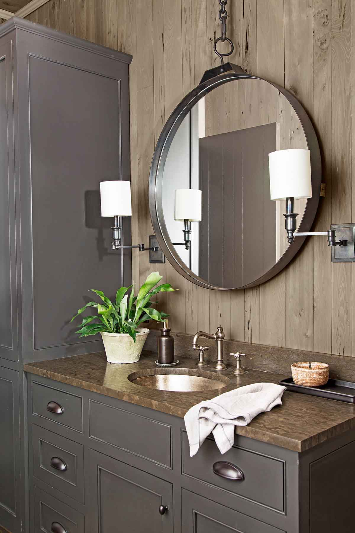 Rustic Bathroom 37 rustic bathroom decor ideas - rustic modern bathroom designs