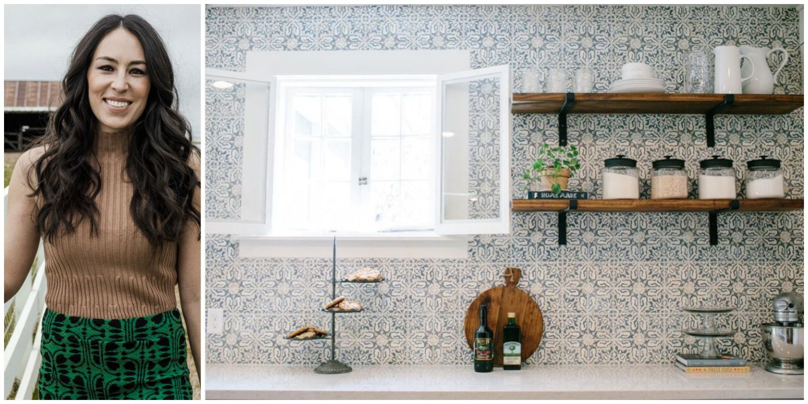 The easiest and cheapest way to update your kitchen for Joanna gaines style kitchen