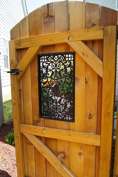 Wonderful If Youu0027re Looking To Keep Your Garden Or Backyard Relatively Private But  Donu0027t Like The Look Of Solid Wood, Try Adding A Peek A Boo Insert.
