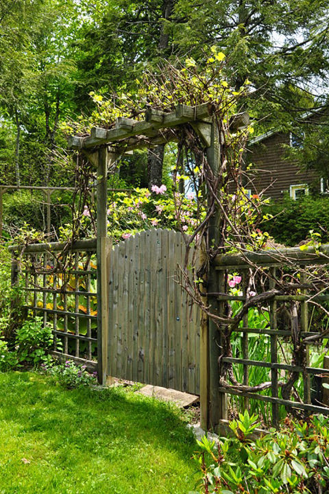Custom Wood Garden Gates By Prowell Woodworks 113