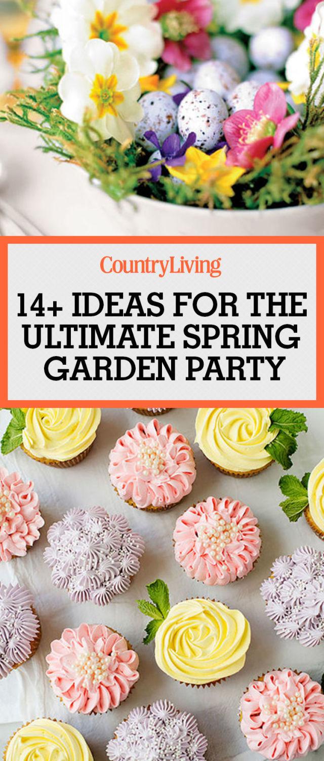 14 Garden Tea Party Decorations Ideas