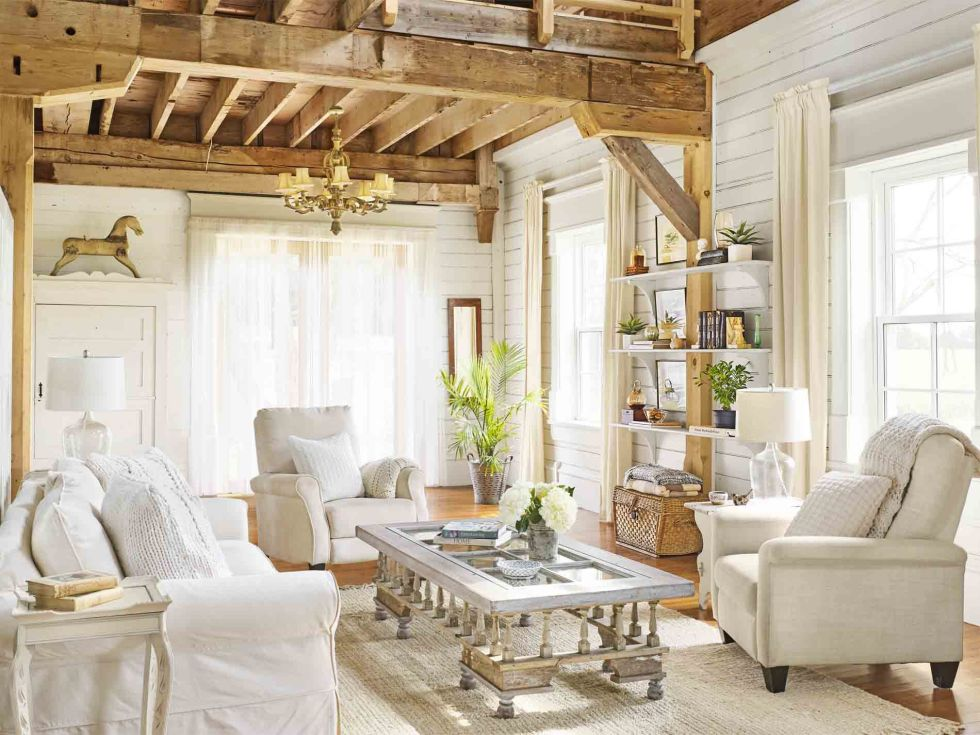 30 White Living Room Decor - Ideas for White Living Room Decorating
