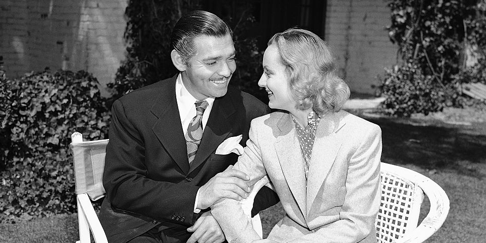 how clark gable and carole lombard met - inside the short