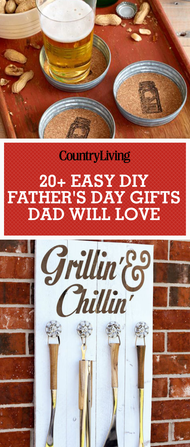 Crafts For Dad: 25 DIY Fathers Day Gifts & Crafts