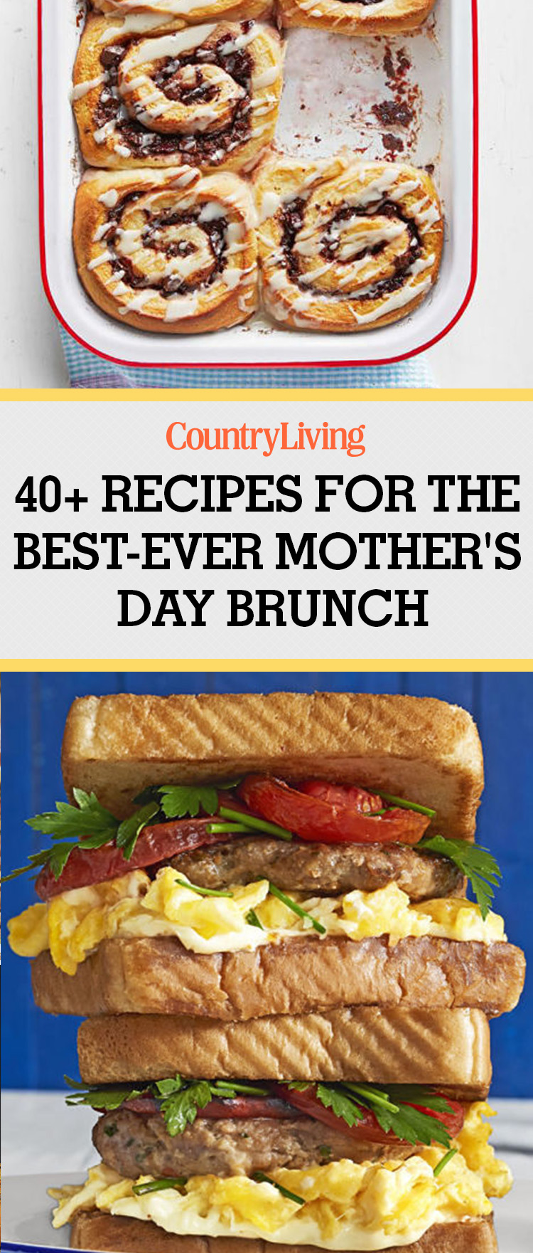 40 Best Mothers Day Brunch Recipes and Ideas