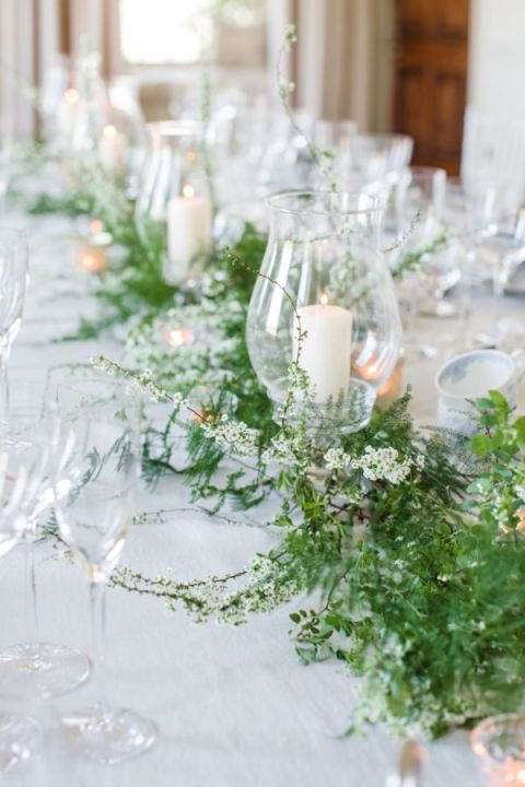 Ways to decorate your wedding with greenery