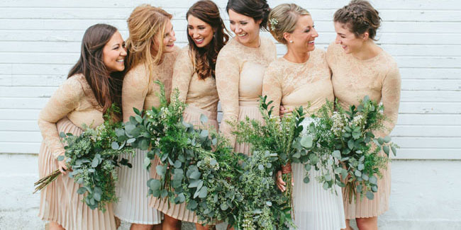 Wedding Bouquets With Lots Of Greenery : Ways to decorate your wedding with greenery