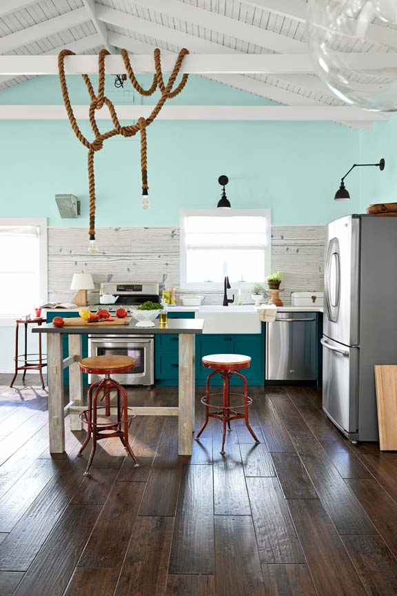 Blue Kitchens 10 beautiful blue kitchen decorating ideas - best blue paints for